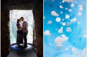 Aquarium of the Pacific Long Beach Engagement Asea Tremp Photography