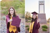 ASU Polytechnic Tempe Senior Grad Photos Asea Tremp Photography