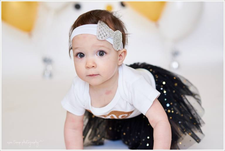 First birthday cake smash session Gilbert AZ Asea Tremp Photography