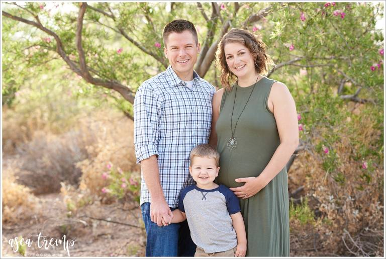 Maternity Family Photos Chandler Veteran's Oasis Park | Asea Tremp Photography 2019