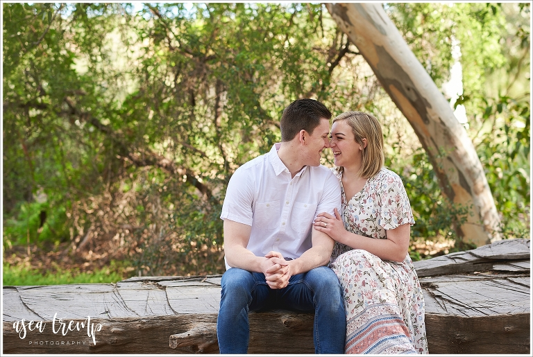Boyce Thompson Arboretum Engagement Photos